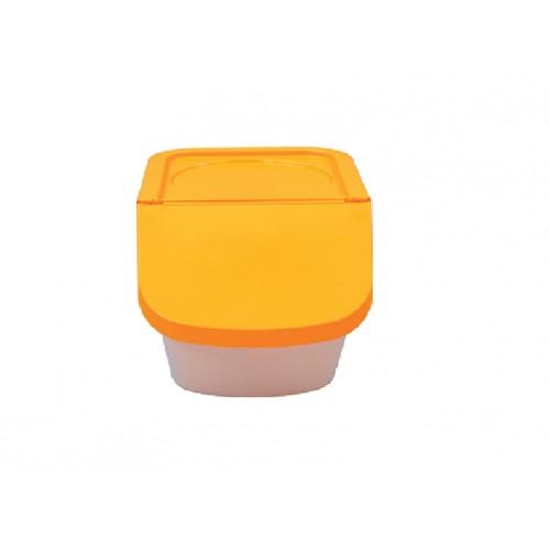 couvercle orange pour trio conteneurs universels empliables