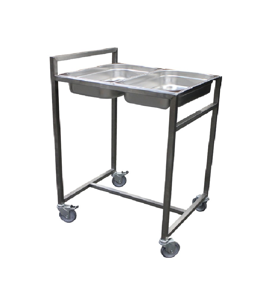 Chariot cuvier gastronome inox for Chariot cuisine professionnel