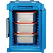 Coffre isotherme GN 1/1 , à chargement frontal L 465 x P 610 x H 630 mm
