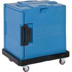 Chariot pour conteneur isotherme en polyuréthane , L 725 x P 530 x H 190 mm