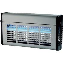 Désinsectiseur professionnel 2 x 15 W, Carter inox à néons , L 505 x P 100 x H 310 mm