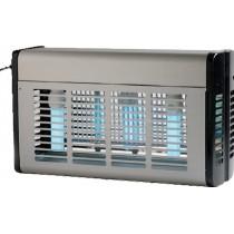 Désinsectiseur professionnel 1 x 20 W, Carter inox avec lampe à économie d'énergie, L 270 x P 160 x H 300 mm