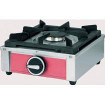 Réchaud 1 feu gaz à poser, acier inox, L 324 x P 356 x H 171 mm