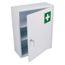 Armoire à pharmacie , 1 porte métal , L 360 x P 150 x H 450 mm