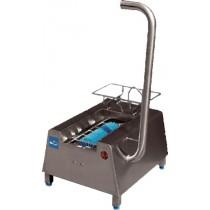 Lave-botte électrique , inox AISI 304 , L 560 x P 650 x H 1100 mm