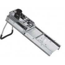 Mandoline inox, L 400 x H 115 mm