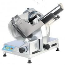 Trancheur à pignon automatique avec compteur de tranche digital integre, viande, aluminium anodisé, L 840 x P 580 x H 700 mm