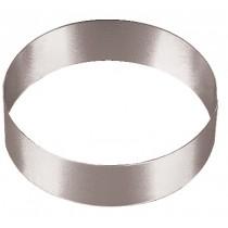 Cercle à mousse inox, haureur 45 mm