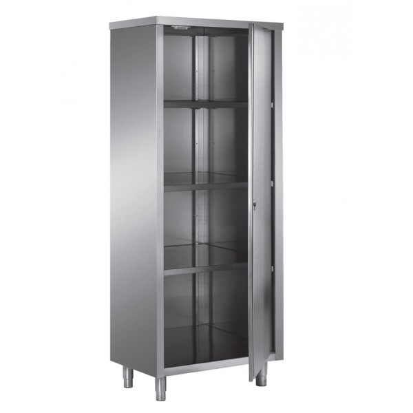 armoire haute en toit plat portes battantes 1 porte stl sarl materiels. Black Bedroom Furniture Sets. Home Design Ideas
