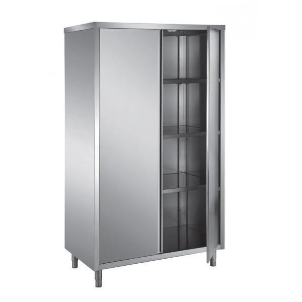 armoire haute en toit plat portes battantes 2 portes p 600 mm stl sarl materiels. Black Bedroom Furniture Sets. Home Design Ideas