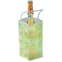 Sac refroidisseur à vin UTIL HOME, en PVC, couleur bleu, fuschia, vert