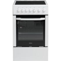 Cuisinière électrique BEKO, couleur blanc, 4 foyers, 60 L