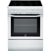 Cuisinière électrique INDESIT, couleur blanc, volume 59 L, L 600 x P 600 x H 850 mm