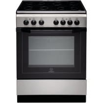 Cuisinière électrique INDESIT, 4 foyers, 59 L, 9000 W