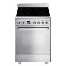 Cuisinière électrique SMEG CP 60 IX 9, 70 L, 4 foyers, puissance totale foyers 10400 W
