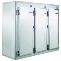 Armoire demontable, A40 KL S6 3P , température positive, Conservation , L 2550 x P 950 x H 2150 mm