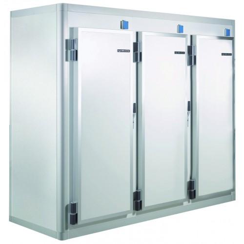 Armoire réfrigérée démontable série S10, négative, congélation,  L 2630