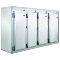 Armoire démontable à temperature negative, congélation A52 KL S10 4P ,  L 3430 x P 1030 x H 2230 mm