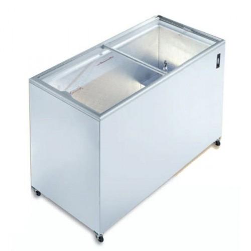 Congélateur horizontal porte coulissante vitrée, IC 200 SC, 191 Litres