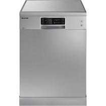 Lave-vaisselle BRANDT DFH 13526 X, en inox, L 600 x P 580 x H 815-850 mm