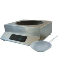 Wok induction monophasé, GLW 3500, gamme posable Geoline, 3500 W, L 429 x P 390 x H 156 mm