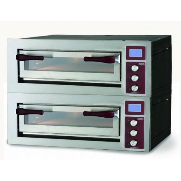 Four à pizza, électrique modulaire, 2 chambres, PULSAR 635 S/2