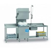 Lave-vaisselle professionnel à capot modèle FAST 180 Analogique ( Panier 500 x 500 mm ), L 640 x P 740 x H 1480 mm