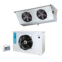 Equipement frigorifique, Bi-Bloc LSN2122, Positif horizontal pour chambre Froide, Gamme de températures : -5°C / +5°C