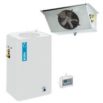 Equipement frigorifique, Bi-Bloc CBKH5450, Négatif vertical pour chambre Froide, Gamme de températures -25°C / -18°C