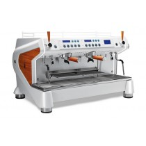 "Machine a cafe professionnelle traditionnelle, CONTI Monte Carlo ""WOOD&WHITE"" 2 groupes"