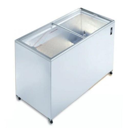 Congélateur horizontal porte coulissante vitrée, IC 300 SC, 326 Litres