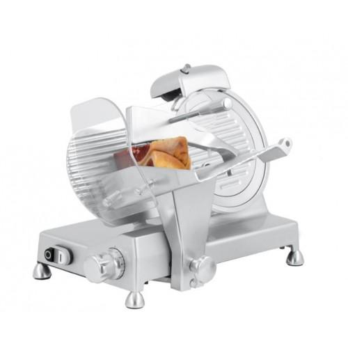 Trancheuse à jambon, en aluminium anodisé, Ø 220 mm, 240 W