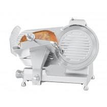 Trancheuse à jambon, en aluminium anodisé, Ø 300 mm, 380 W