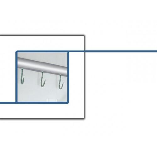 barre boucherie dents set crochet inox c15 200 nombre crochet fournis 10 pour mini. Black Bedroom Furniture Sets. Home Design Ideas