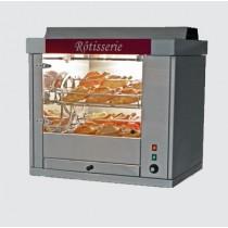 Rotissoire professionnelle a balancelle, COMETE 3, inox, L 830 x P 680 x H 825 mm