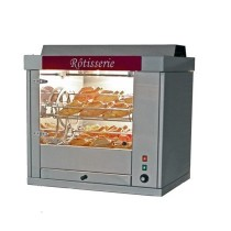 Rotissoire professionnelle a balancelle, COMETE 4, inox, L 830 x P 680 x H 825 mm
