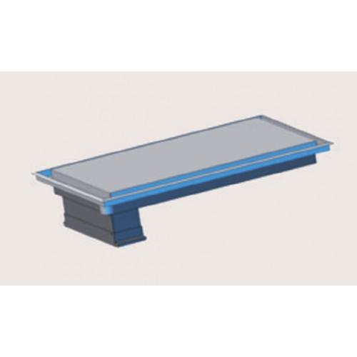 Plancha induction et boitier inducteur DUO CONCEPT, triphasée, 2 x 4000W