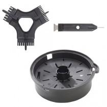 D-clean kit : outil de nettoyage grille macédoine (5,8 ou 10 mm)