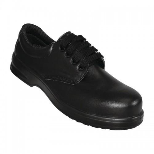 Chaussures de sécurité à lacets noires Lites, couleur noir