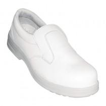 Mocassin de sécurité cuisine Lites, couleur blanc
