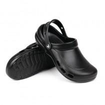 Sabot crocs professionnel, couleur noir, pointure 36-47