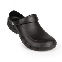 Sabot crocs professionnel Toffeln, couleur noir, pointure : 36-47