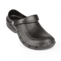 Sabot crocs professionnel Toffeln, couleur noir, pointure 36-47