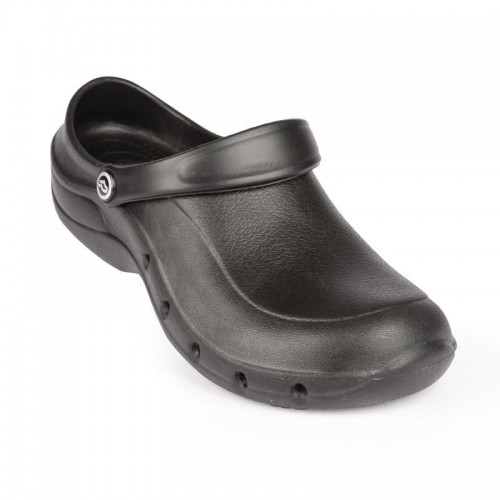 Sabots crocs professionnel Toffeln EziKlog Pro Air, noir