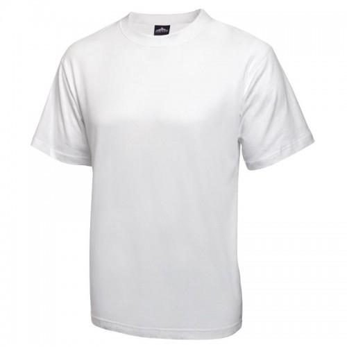 Tee-shirt unisexe blanc, 100% coton