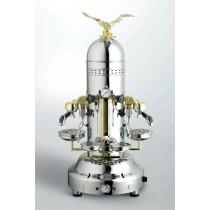 Machine à café espresso BEZZERA EAGLE DOME DE chromé - 2 Groupe