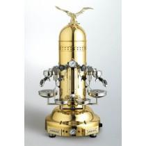 Machine à café espresso BEZZERA EAGLE DOME PM doré - 2 Groupe
