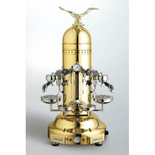 Machine à café espresso BEZZERA EAGLE DOME DE doré - 2 Groupes