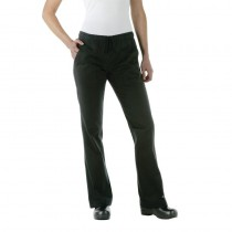 Pantalon exécutive Chef Works pour dame, couleur noir, tailles L - XXL