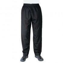Pantalon de cuisinier unisexe Whites Vegas, couleur noir
